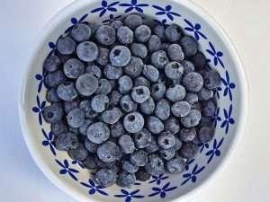 healthy frozen fruits